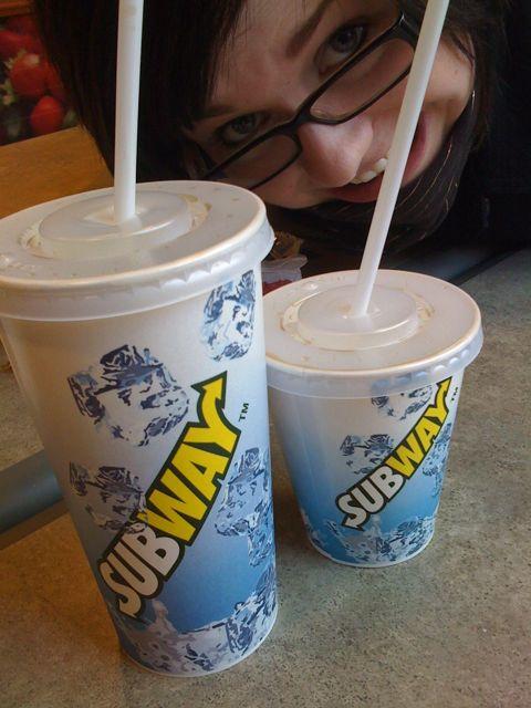Jeg og Julie dro på Subway, sainnt!
