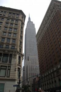 Empire State Building, fra en litt dårlig vinkel..