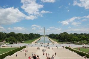Nationall Mall i Washington DC. Noen som husker scenen fra Forest Gump?