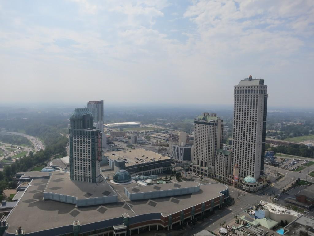 Utsikt mot Clifton Hill og det nye kasinoet